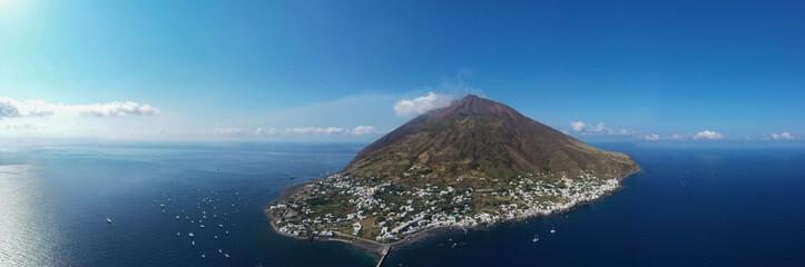 Isola di Stromboli vista