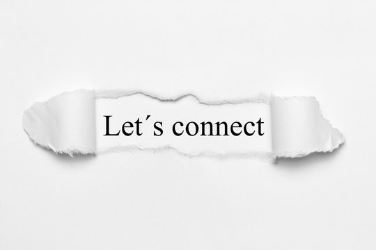 Let´s connect
