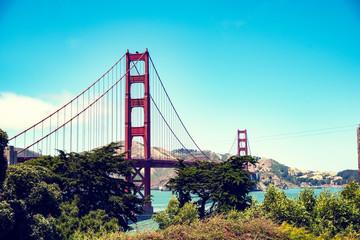 Most w San Francisco  - fototapety na wymiar