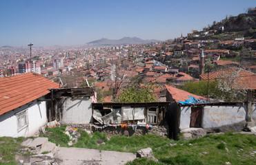Bidonville in Ankara -3