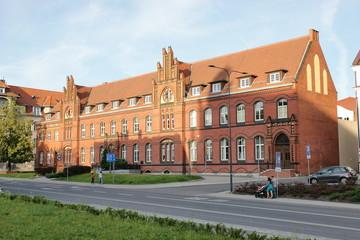 Obraz Olsztyn - Poczta Polska - fototapety do salonu