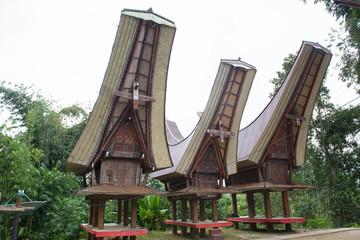 Garden Poster Toraja Traditional Village Housing In Indonesia