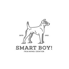 Fox terrier logo
