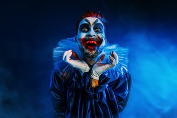 crazy clown man