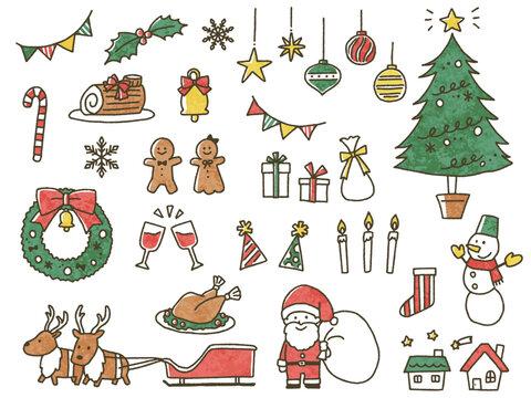 手書きクリスマス