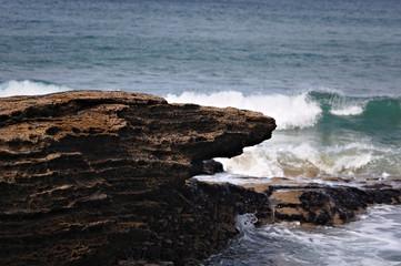 rocky coast - Trebarwith - Cornwall