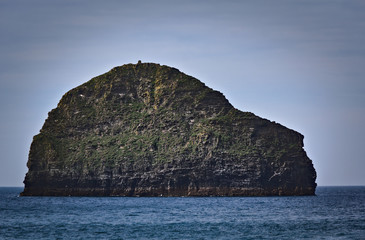 small island - Trebarwith - Cornwall