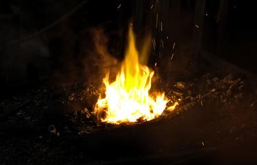 blacksmith's fire- Prague -