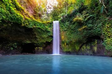 Wall Mural - Tibumana waterfall in Bali island, Indonesia.