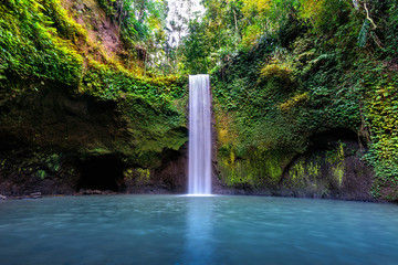 Wall Mural - Tibumana waterfall in Bali island, Indonesia.