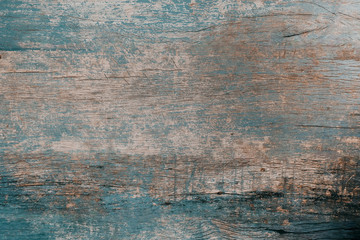 vintage of rustic blue wooden for background texture