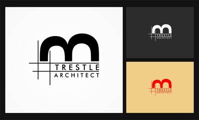 trestle architect vector logo