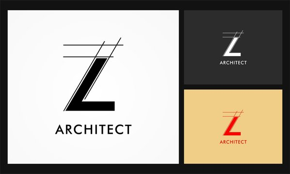 z architect vector logo