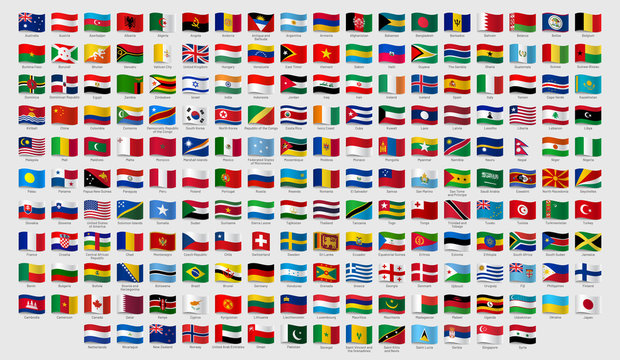 18 169 Best Country Flags With Names Images Stock Photos Vectors Adobe Stock