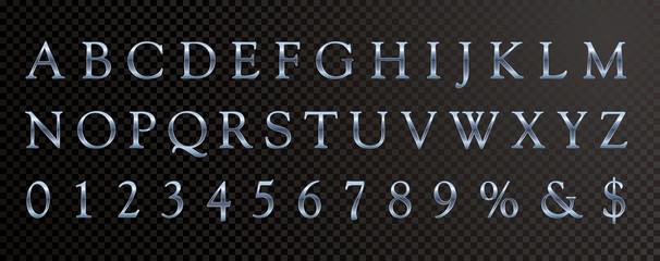 abc blue serif