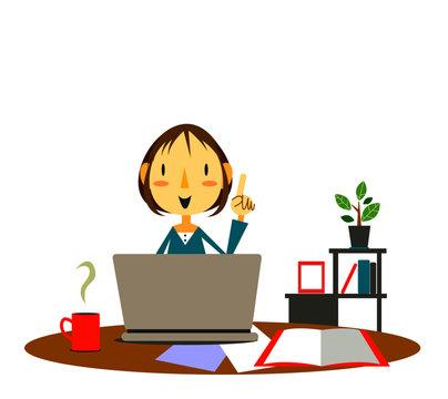 働き方改革 在宅ワーク 女性