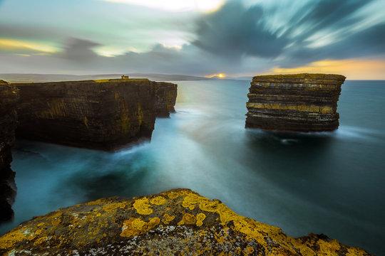 downpatrick head seascape