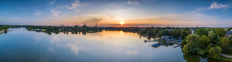 Stadt Lübeck Panorama