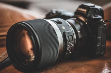 カメラレンズ。NIKON、SIGMA