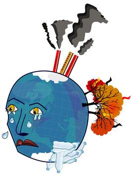 La planète maltraitée