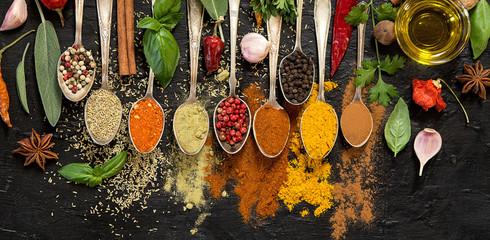 Fototapeta Herbs and spices obraz