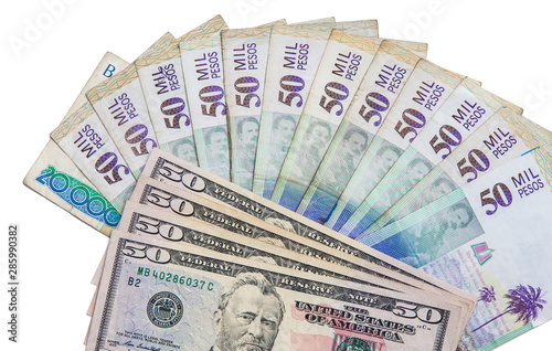 Exchange Rate Between Us Dollar And Colombian Peso In 2019