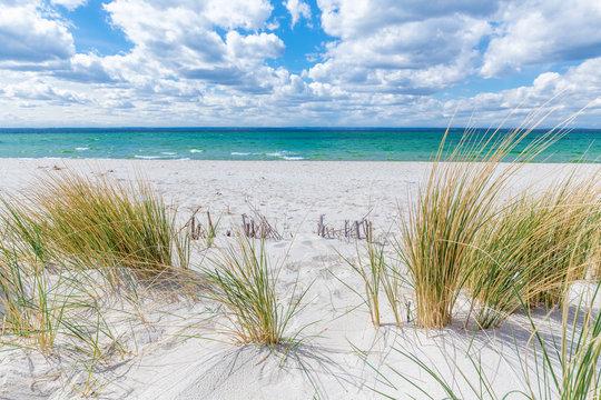 Baltic sea on the Polish coast