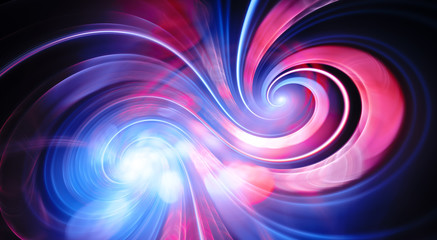 Infinity double spiral of love abstract background Wall mural