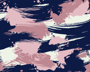 Seamless vector camouflage repeat pattern