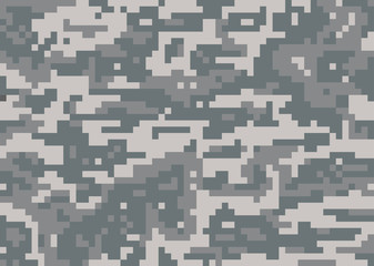 Seamless vector camouflage military texture background soldier