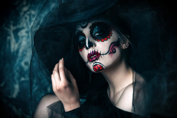 los muertos woman Fototapete