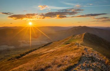 Obraz Bieszczady - Carpathians Mountains  - fototapety do salonu