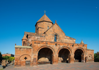 saint gayane church in Echmiadzin, armenia