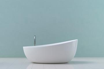 Modern bathtub, 3D Rendering
