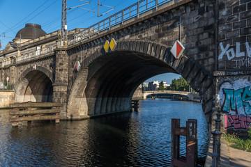 Brücke über die Spree in Berlin