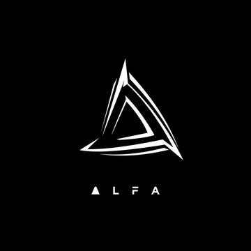 alfa initial logo