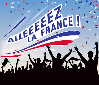 ALLEZ LA FRANCE_STADE