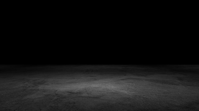 Black Background Floor Dramatic Product Scene Concrete Texture