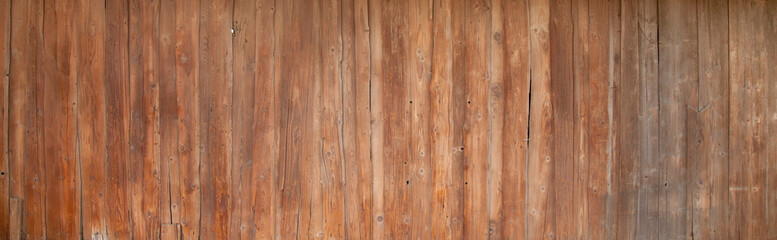 Vintage wood background. Rich wood texture of planks. Free space for text.