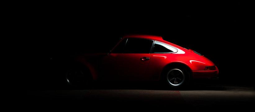 Vintage Porsche 911 Car