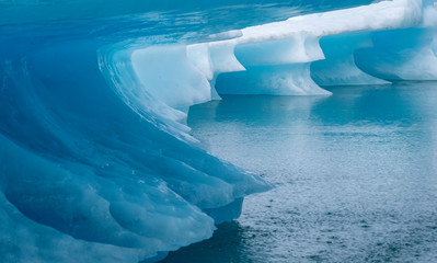 Sculpted Iceberg