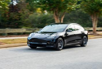 Tesla Model 3 photos, royalty-free images, graphics, vectors
