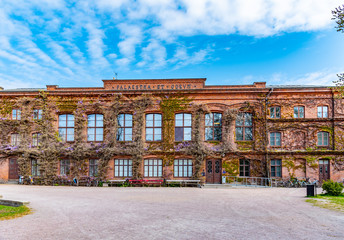 Palestra building of the university of Lund in Sweden