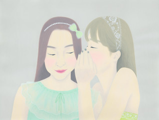 Whispering / 内緒話