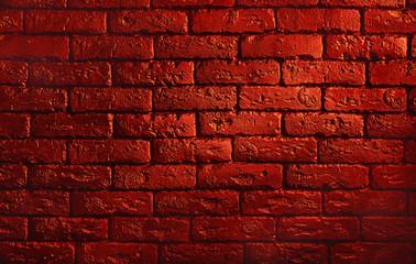 White brick wall background Fototapete