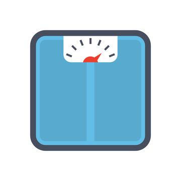 Bathroom scale icon