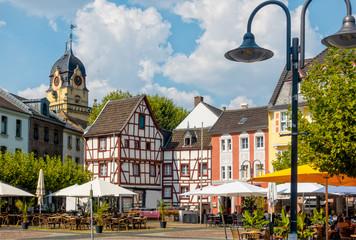 Mittags am alten Markt in Euskirchen
