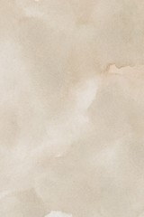 abstract beige splotchy ink watercolor paper background