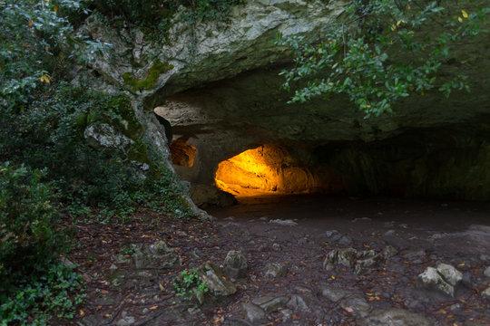 The caves of Zugarramurdi, Navarra