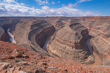 Dramatic Meanders in a Desert Canyon